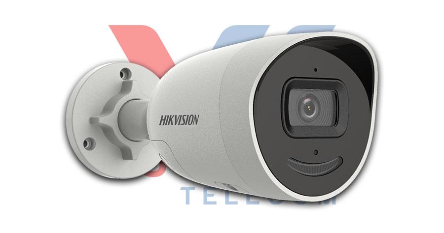 Camera IP AcuSense thân trụ 4MP HIKVISION DS-2CD2046G2-IU/SL