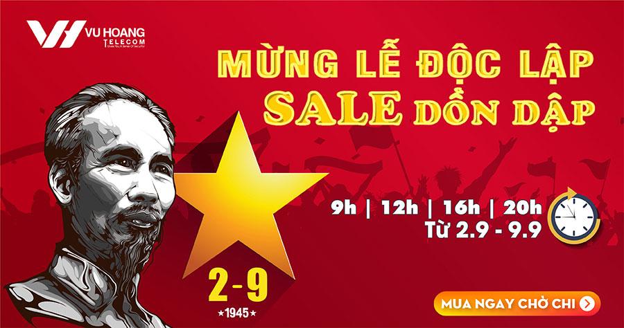Flash Sale 9.9: Mừng Lễ Độc Lập Sale Dồn Dập tại Vuhoanglelecom