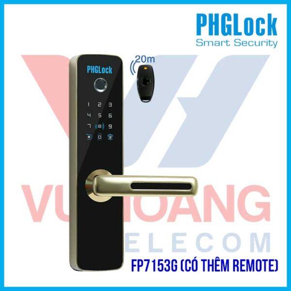 PHGLOCK FP7153G có thêm remote