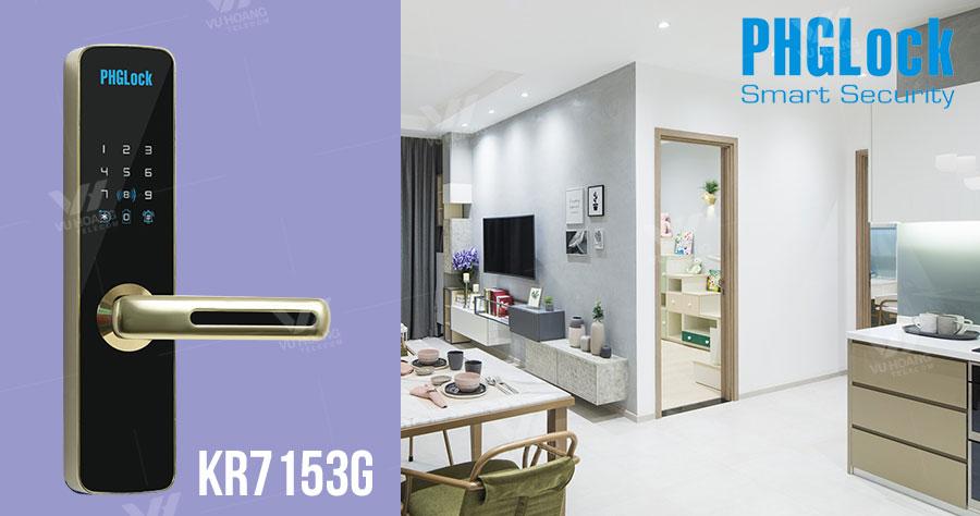 Bán Khóa cửa cho căn hộ, nhà phố PHGLOCK KR7155G giá rẻ