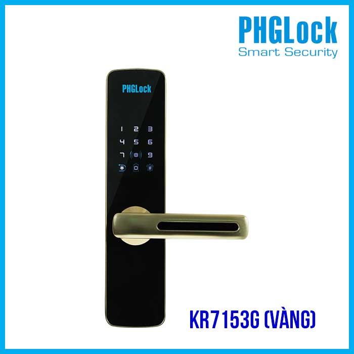 Khóa PHGLOCK KR7153G (Màu Vàng)
