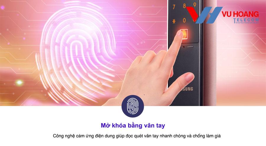 Áp dụng công nghệ vân tay cảm ứng điện dung