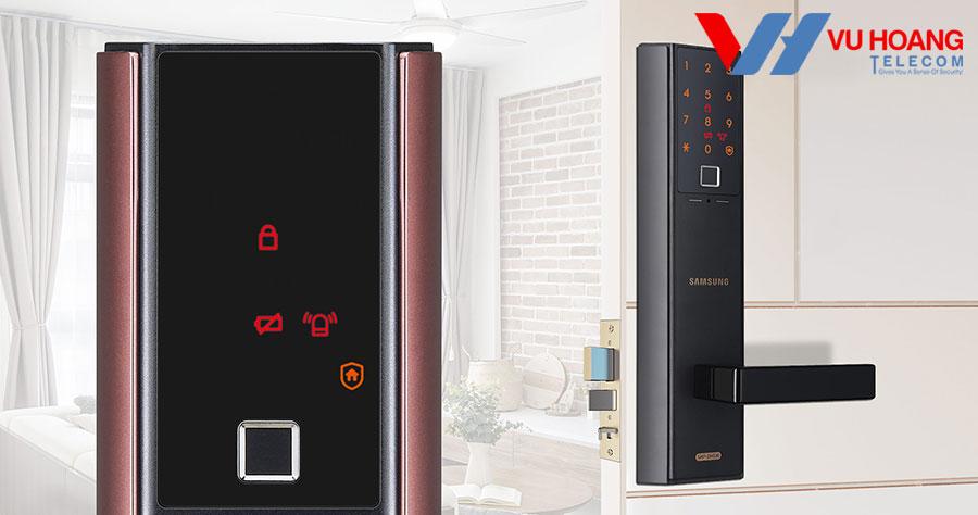 Khóa thông minh vân tay SAMSUNG SHP-DH538MC/EN