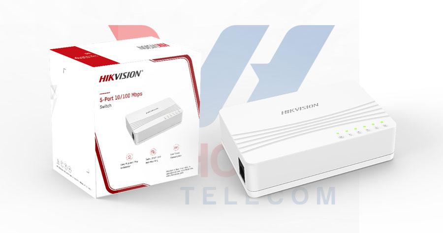 Switch mạng 5 cổng 100M HIKVISION DS-3E0105D-E