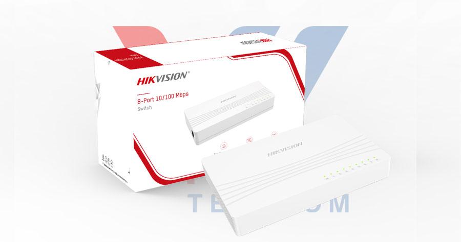 Switch mạng 8 cổng 100M HIKVISION DS-3E0108D-E
