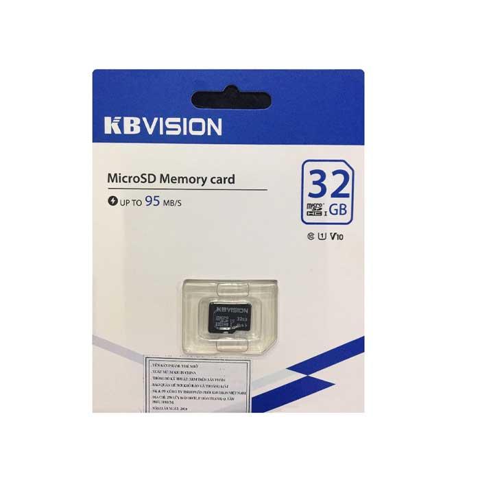 MicroSD 32GB KBVISION