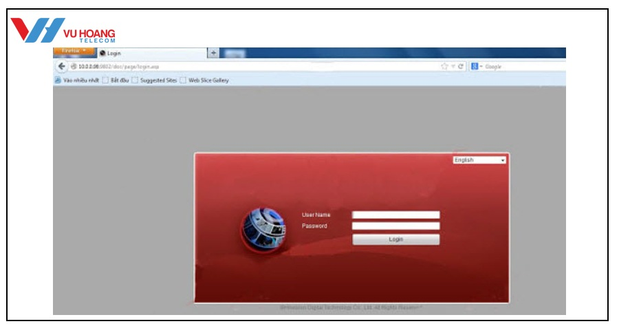xem camera Hikvision tren web qua mang Internet online tai nha - 2