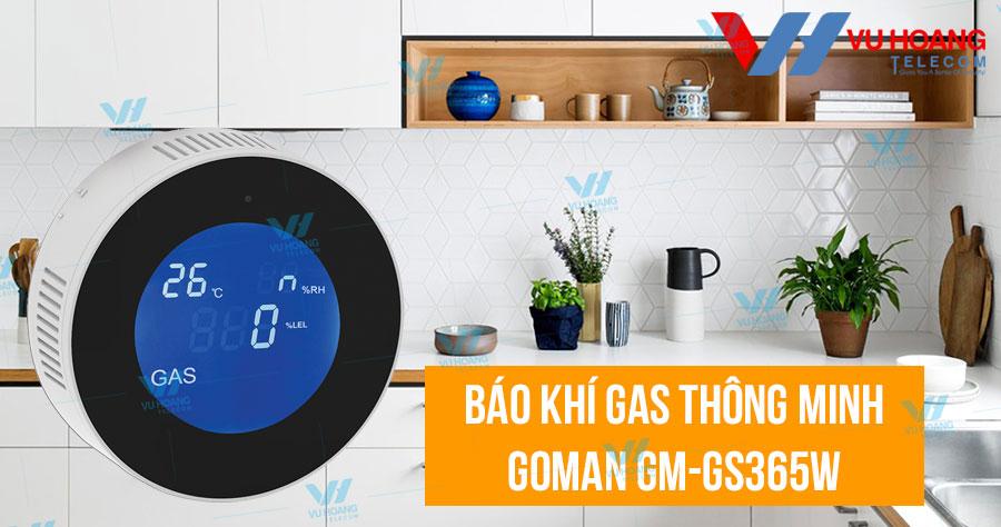 Bán cảm biến báo khí gas thông minh GOMAN GM-GS365W giá rẻ