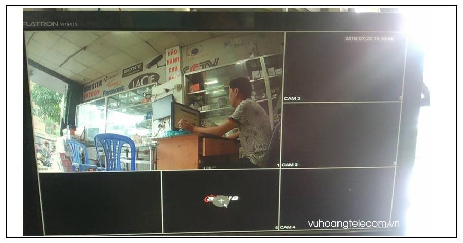 cach ket noi camera IP voi dau ghi hinh Dahua - 4