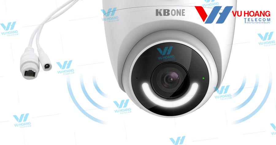 KN-D23L hỗ trợ cả kết nối Wi-Fi và Ethernet.