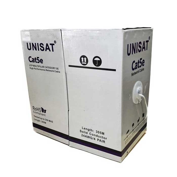 Cáp mạng UNISAT CAT5E UTP 305M