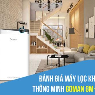 Đánh giá máy lọc không khí thông minh Goman GM-WAP325W