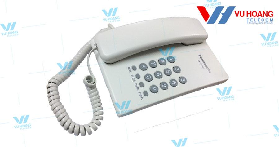 Điện thoại bàn KX-T7700 làm từ nhựa cao cấp