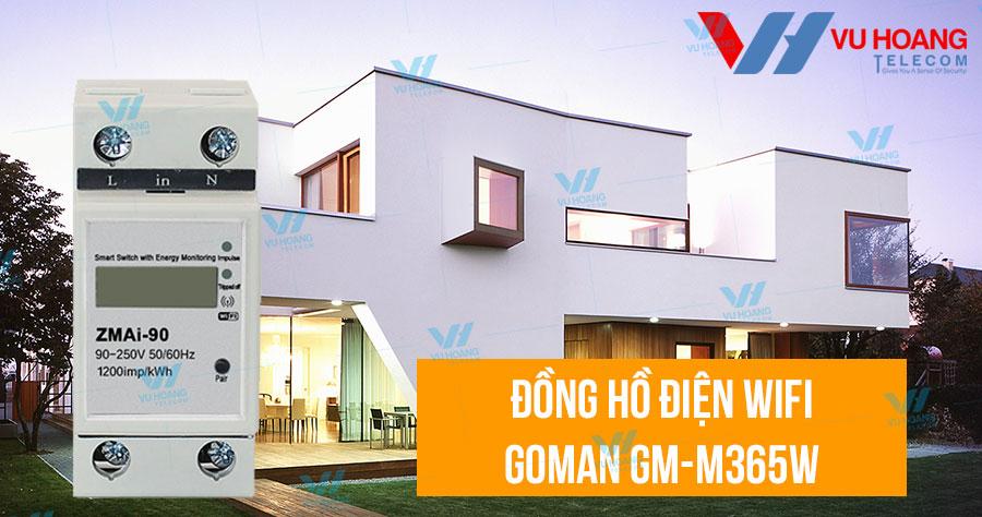 Bán đồng hồ điện WIFI GOMAN GM-M365W giá rẻ