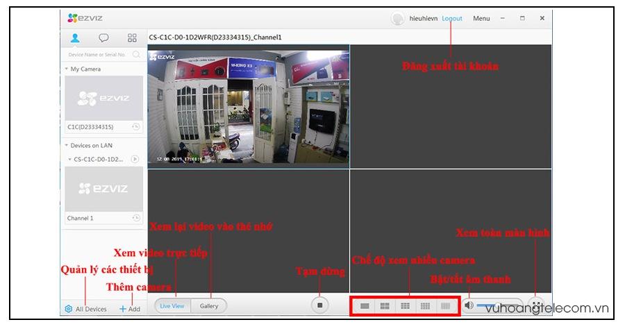 huong dan cach cai dat camera Ezviz tren may tinh - 6