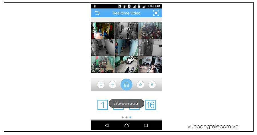 huong dan cai dat xem camera Vantech tren iphone