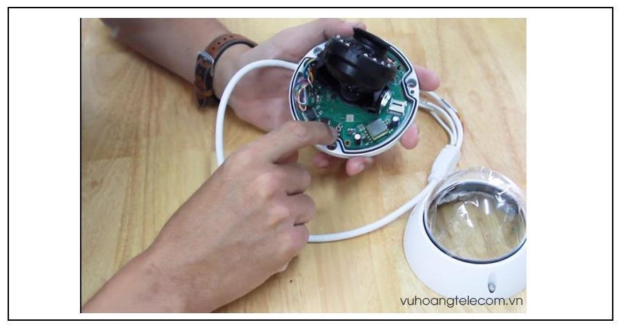 huong dan chi tiet cach reset camera IP Kbvision  - 2