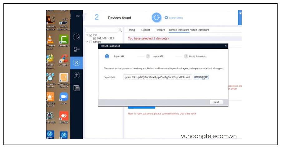huong dan chi tiet cach reset camera IP Kbvision  - 6