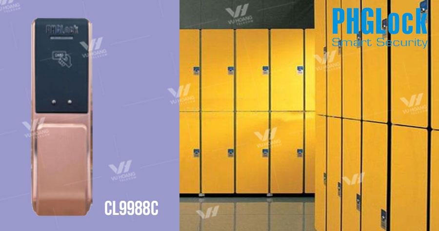 Bán khóa cửa tủ dùng thẻ từ PGHLock CL9988C giá rẻ, chính hãng