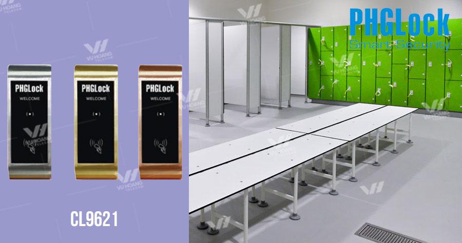 Khóa cửa tủ dùng thẻ từ PGHLock CL9621