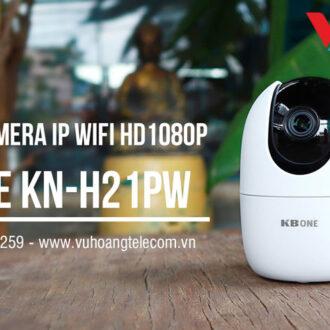 Review camera IP Wifi 2.0MP KBONE KN-H21PW giá rẻ