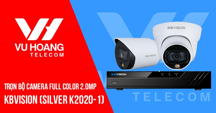 Lắp đặt trọn bộ camera Full Color HD1080P KBVISION SILVER K2020-1