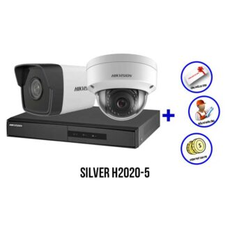 Trọn bộ camera IP HIKVISION SILVER H2020-5
