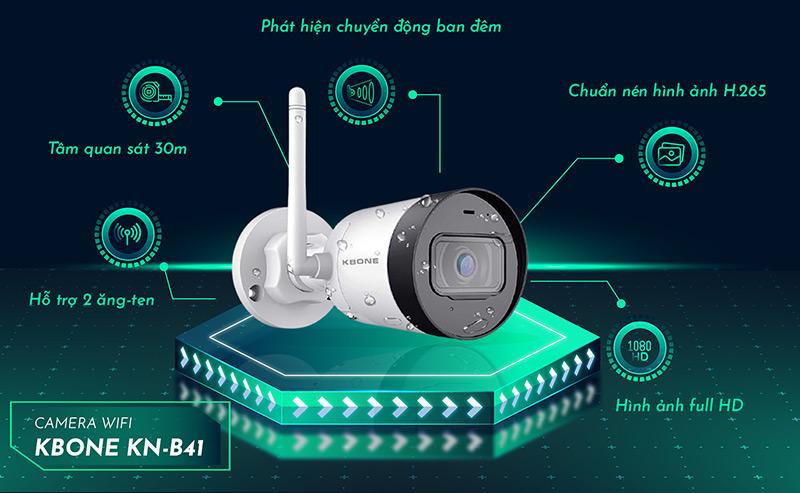 Camera IP KBONE KN-B41 chất lượng cao