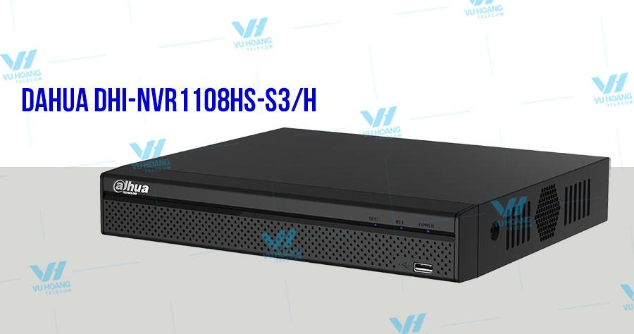 Đầu ghi hình IP 8 kênh DAHUA DHI-NVR1108HS-S3/H
