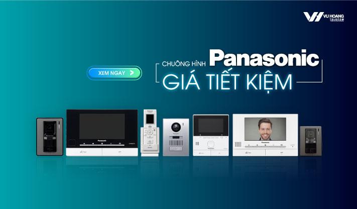 Ưu đãi chuông hình Panasonic giá tiết kiệm