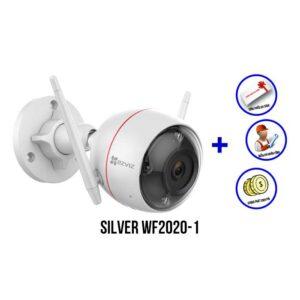 lắp đặt bộ camera Wifi EZVIZ bộ SILVER WF2020-1