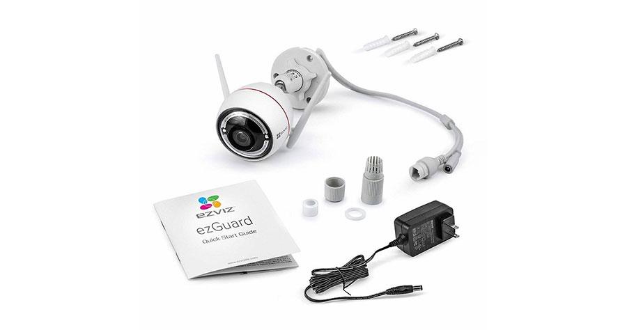 Trọn bộ cameraEZVIZ C3W Color Night Pro