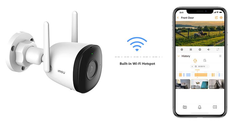 Camera Imou IPC-F22P hỗ trợ Wifi Hotspot