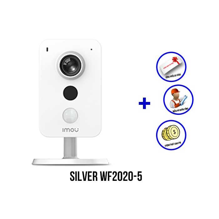Trọn bộ camera IMOU 4MP gói SILVER WF2020-5