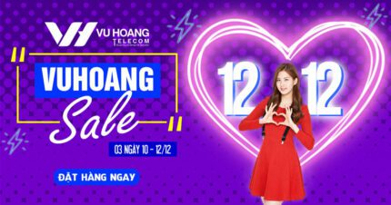Khuyến mãi Vuhoang Sale 12.12