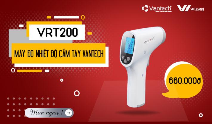 Khuyến mãi máy đo nhiệt độ cơ thể cầm tay Vantech VRT200