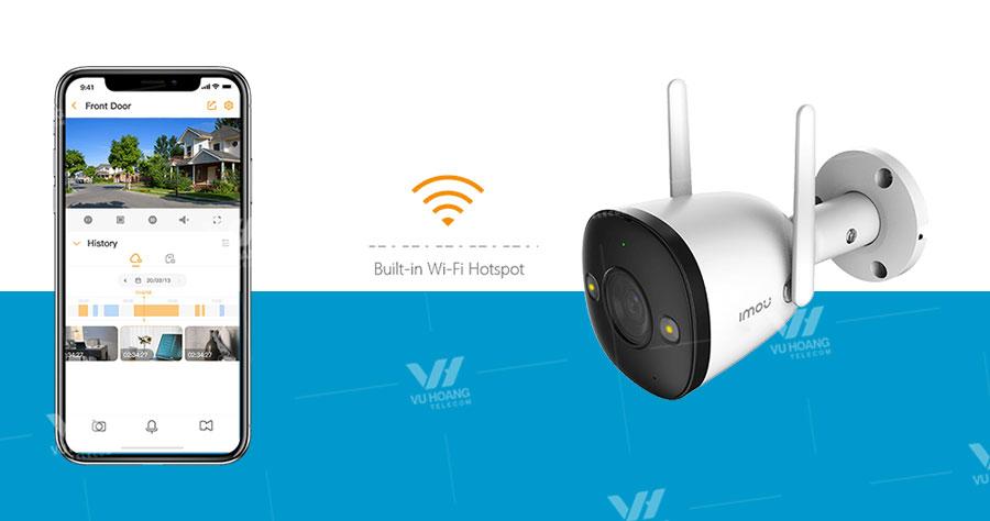 Camera IPC-F22FP-IMOU hỗ trợ Wifi Hotpot