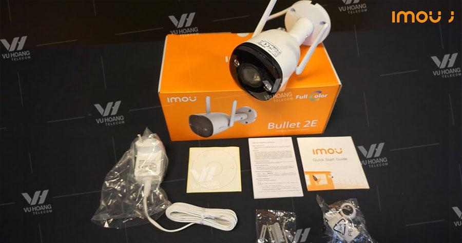 Trọn bộ camera IP Wifi 2MP IPC-F22FP-IMOU