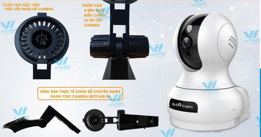 Bán chân đế camera IP Wifi Ebitcam E3 chính hãng giá tốt