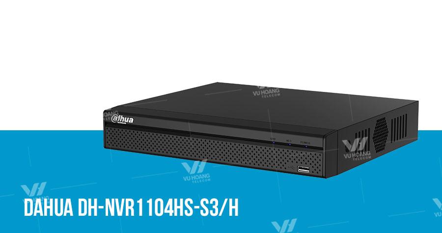 Bán đầu ghi hình IP 4 kênh DAHUA DH-NVR1104HS-S3/H giá rẻ