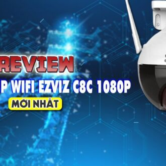 review camera IP wifi Ezviz C8C