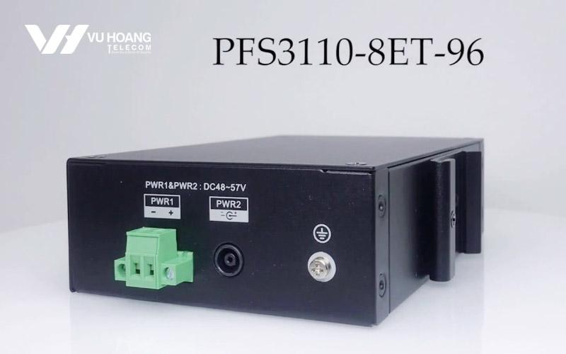 Mặt sau Switch POE DAHUA DH-PFS3110-8ET-96