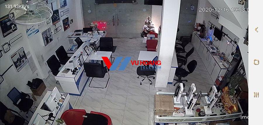 Test camera IPC-A22EP-A-IMOU vào ban đêm tại Vuhoangtelecom