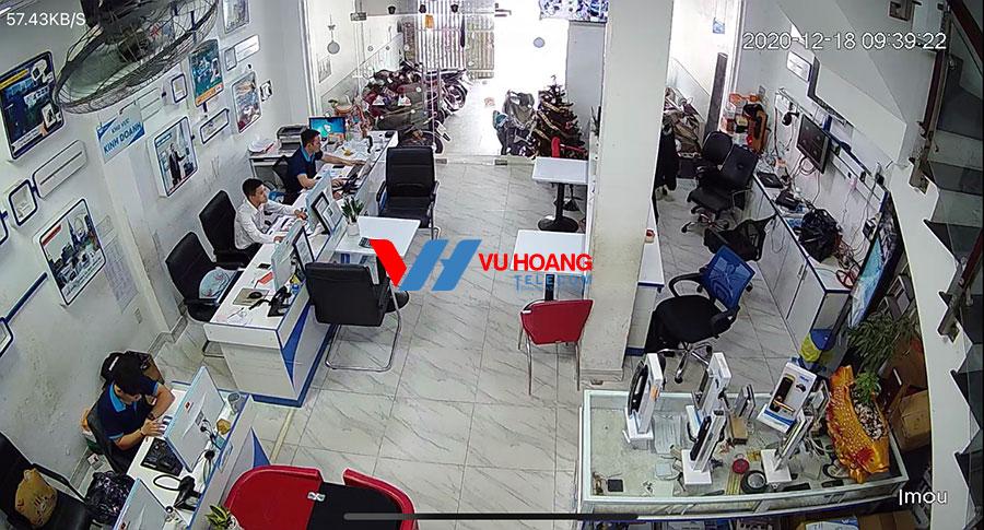 Test camera IPC-A22EP-A-IMOU vào ban ngày tại Vuhoangtelecom