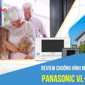 Review chuông hình màu Panasonic VL-SV70 mới nhất năm 2021