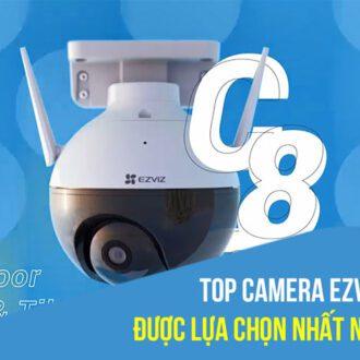 Điểm qua top camera EZVIZ được lựa chọn nhất năm 2020