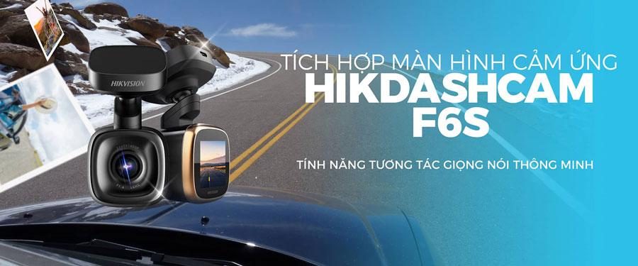 Dashcam Hikvision F6S có màn hình