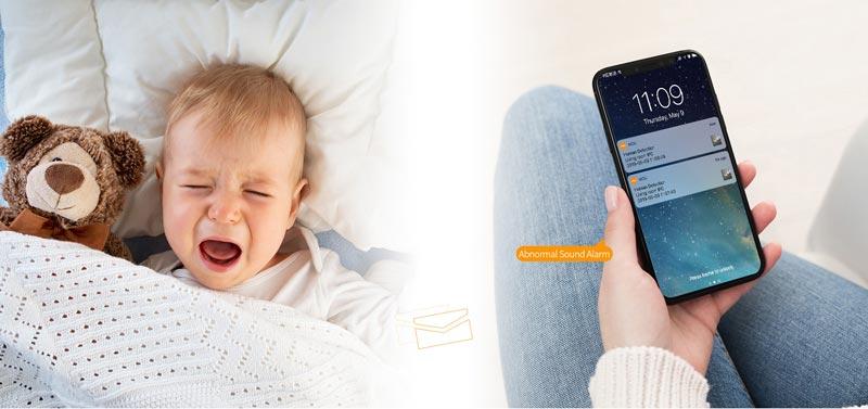 Camera IPC-A22EP-B phù hợp sử dụng trông trẻ cho gia đình