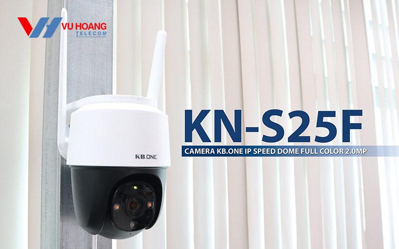 Camera Full Color 2MP KBONE KN-S25F