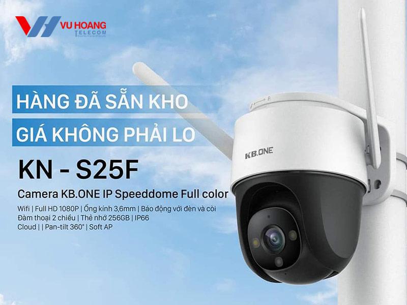 Camera KBONE KN-S25F có sẵn kho Vũ Hoàng